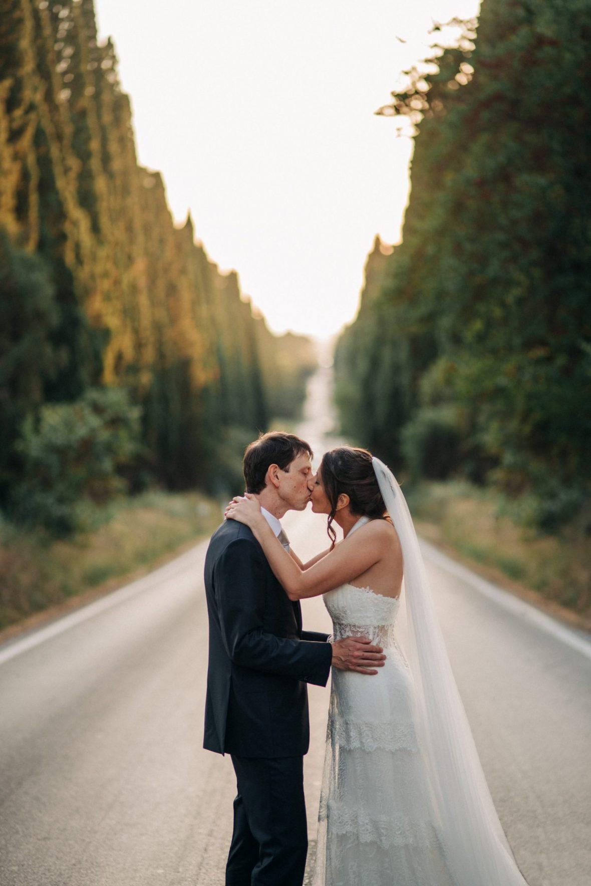 Matrimonio Toscana Viale Bolgheri