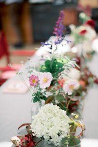 Allestimento floreale battesimo